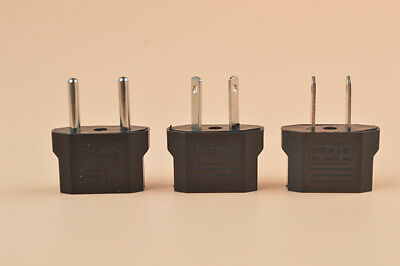 AU (AUSTRALIA), US (USA) , EU (Europe) Power Jack Plug Converter Travel Adapter