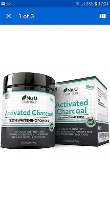 Activated Charcoal Natural Teeth Whitening Powder 90g