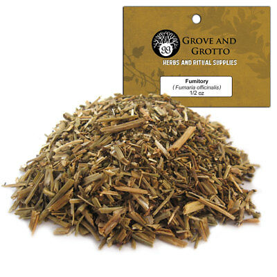 Fumitory 1/2 oz Package Ritual Herb Earthsmoke ORGANIC C/S by Grove and Grotto