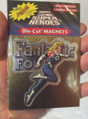Marvel Fantastic Four Invisible Woman Super Heroes Die Cut Magnet w Free Ship