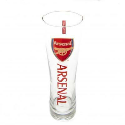 Arsenal F.C. Official Tall Slim Pint Beer Glass