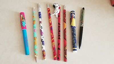 1990s Disney Pen And Pencil Collection