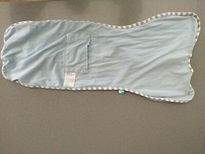 Love to Dream Swaddle Up, Small 3-6kg, 6.5-13 lbs, Baby Blue. Unisex.