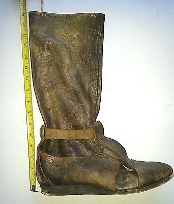 One Brown Leather (Right Foot), SHOE BOOT, approx UK 8. Royal Shakespeare Co.