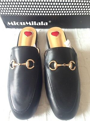 Womens Black Loafers - Size 5