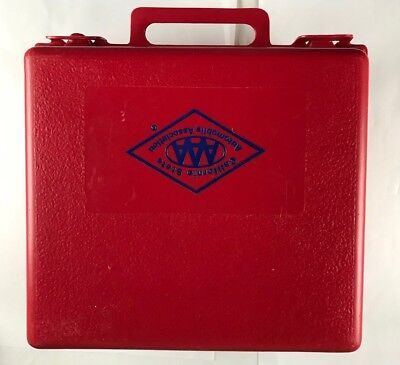 Vintage AAA Road Emergency Kit