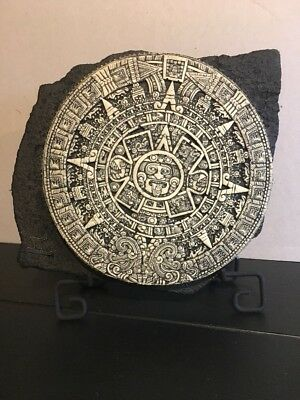 Azteca America The Aztec Calendar Display With Stand