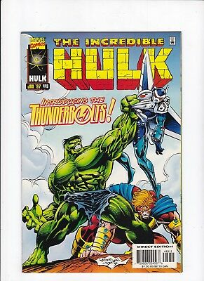 Incredible Hulk 449 1st Appearance of Thunderbolts VF/NM Comic Book Lot of 1