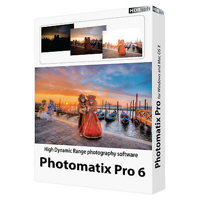 HDR SOFT Photomatix Pro 6 | Full Version | Windows | UPTO 5PC's | Instant Access