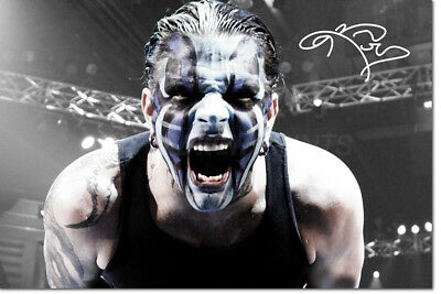 Jeff Hardy Photo Print Poster Pre Signed  - 12 X 8 Inch  - Premium Quality