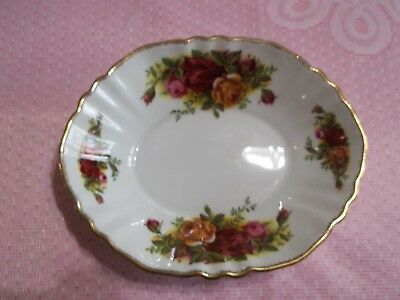 Royal Albert Old Country Roses Sweet Meat Dish English fine China Original