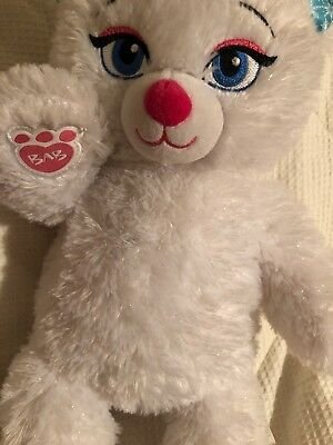 Build A Bear Disney Frozen Elsa White Bear Plush Stuffed Animal