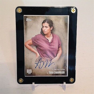 The Walking Dead Alanna Masterson As Tara Season 5 Autograph Card