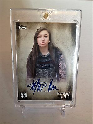 The Walking Dead Katelyn Nacon As Enid Season 5 Autograph Card