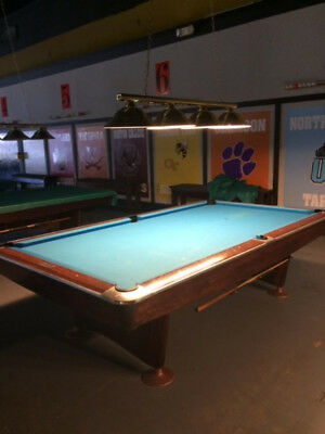 EACH BRUNSWICK Gold Crown Ft Pool Tables PicClick - 6 ft brunswick pool table