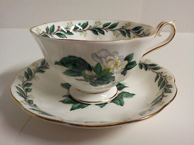 Royal Albert Bone China England Lady Clare Cup and Sucer