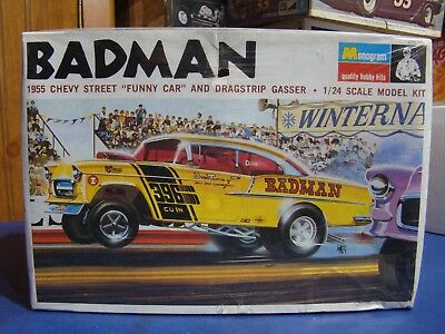Factory Sealed Badman 55 Chevy Gasser With Great Box Art. This Is The One....