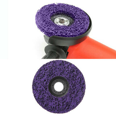 Poly Strip 125mm Disc Abrasive Wheel Paint Rust Removal Clean For Angle Grinder