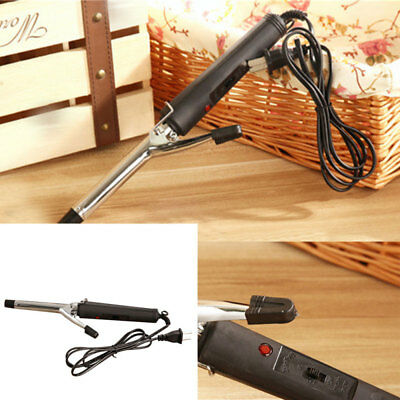 Women Stainless Steel Hair Curler Iron Curling Manual Electric Wave Curl Machine