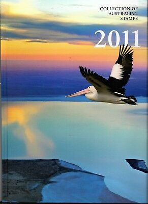 Australia Post 2011 Stamp Collection Album & Cover Only- No Stamps