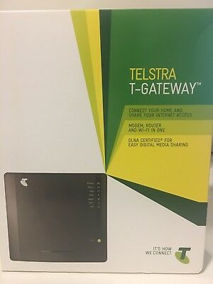Telstra ADSL 2+ Internet Home T Gateway Modem Router WiFi Brand New in Box