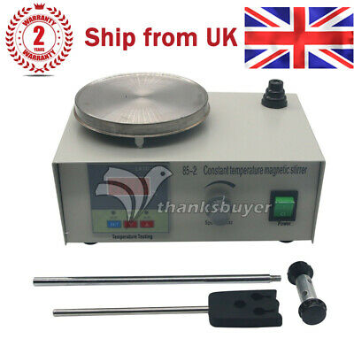85-2 Laboratory Magnetic Stirrer Constant Temperature+Heating Plate Hotplate BE