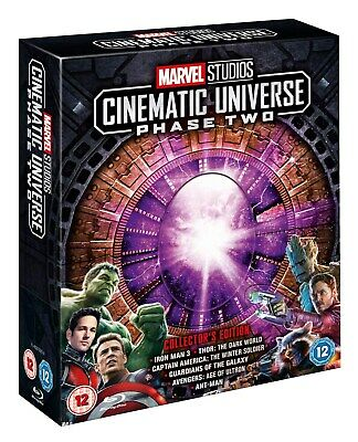 Marvel Studios Cinematic Universe: Phase Two (Collector's Edition Box Set) [Bl