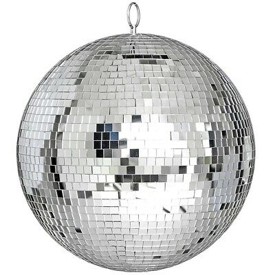 30cm Mirror Glass Disco Reflective Ball Dance Event Party Club Stage Lighting AU