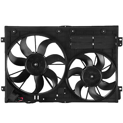 HQ Radiator Dual Cooling Fan for Audi TT Volkswagen Beetle CC EOS Golf CE