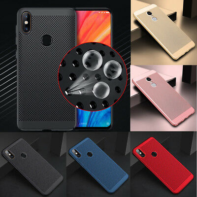 For Xiaomi Redmi Note 5 Pro S2 6A 4X Breathable Ultra Thin Hard Back Case Cover
