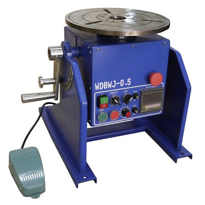 WDBWJ-0.5 50Kg Welding Positioner Machine For Mig /Tig Welding Turntable Machine