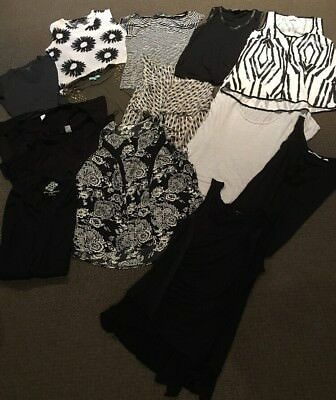 14 Ladies Tops, Size 12 To 14, As New , Must Go, Cue, Witchery, Country Road,etc