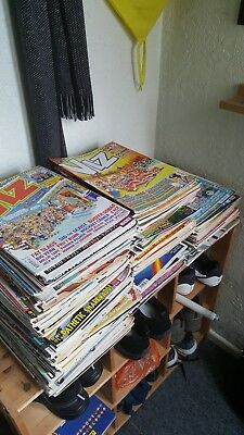 Various comics magazines from last 20+ Years majority (90%) are Viz also Focus