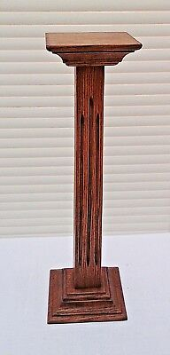 "Original Art Deco 1930's Wooden Hat Stand 18"", Millinery Shop Display."