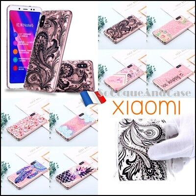 Etui housse coque silicone 3D Diamond TPU Case Cover Xiaomi Redmi Note 5 Pro