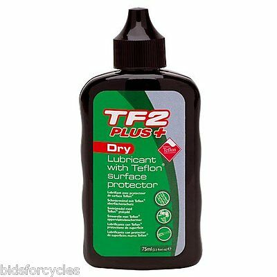 WELDTITE TF2 PLUS DRY LUBRICANT WITH TEFLON® SURFACE PROTECTOR 75ml CYCLE LUBE