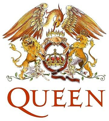 Queen Iron On Transfer For T-Shirt & Other Light Color Fabrics #1