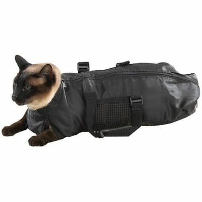 Pet Supply Cat Grooming Bag - Cat Restraint Bag, Cat Grooming Accessory U3J9