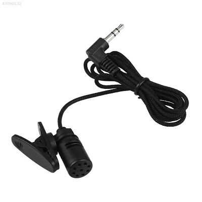 B1EA Mini Clip-On Lapel Wired Double Track Microphone MIC For SmartPhones PC