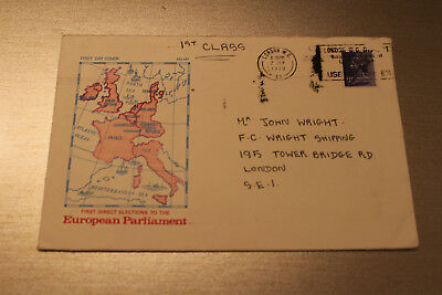 GB 1979 First Day Cover of the First Direct Elections to the European Parliament