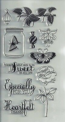 1 Pc Flower Style Transparent Clear Stamp DIY Silicone Seals Scrapbooking Card