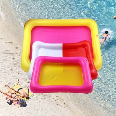 Inflatable Sand Tray PVC Sandbox Table Sensory Tray Fun Play Toys for KidsNR