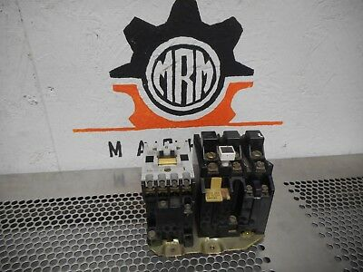 Allen Bradley 509-TOD Ser B Contactor 120V Coil And Overload Relay (3) Heaters