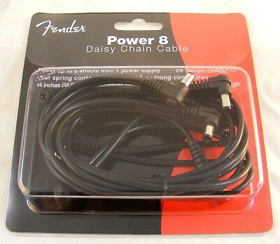 Fender Power 8 Daisy Chain Cable for 9V Guitar Effect Pedal