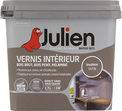 Vernis de protection incolore Julien - Boîte 750 ml