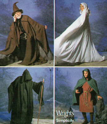 S9887 Lord ofthe Rings LOTR Galadriel Cape-Wraith-Gandolf-Hobbit Costume Pattern