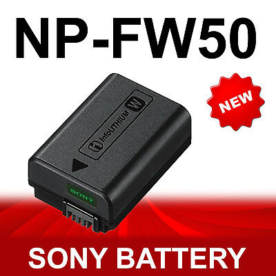 NP-FW50 Battery For Sony Alpha A7 A7II A7R A7RII A7RIII A5000 A5100 A6000 A6300