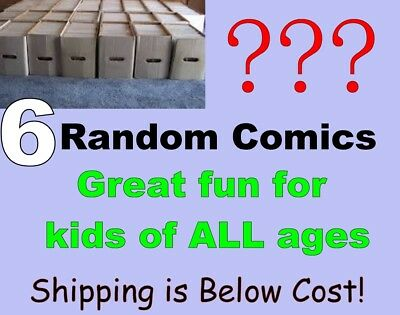 Random Comic Book Lot of 6 Books - Grab Bag - What will you Get? That's the Fun!