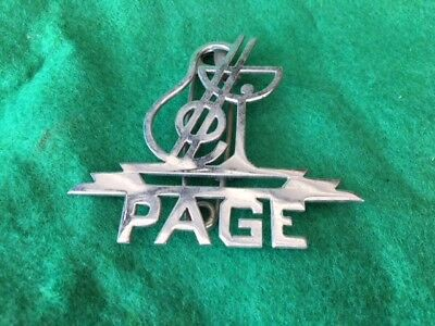 Vintage Page Pin From New Yorks Famous (Casino De Paris)