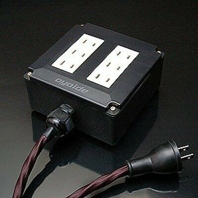 R-1 20A wall outlet Outlet for audio From Japan Official Oyaide